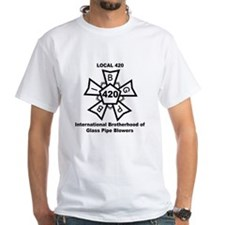 Local 420 Glass Blowers Union Shirt