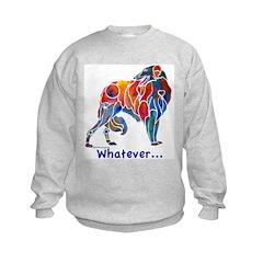 Love My Borzoi Quotes Kids Sweatshirt