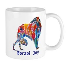 Love My Borzoi Quotes Mug