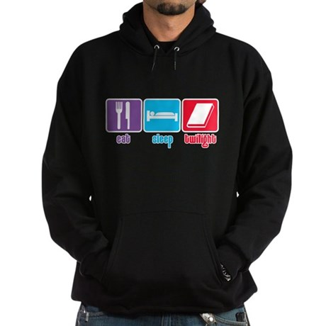 Eat Sleep Twilight Hoodie (dark)