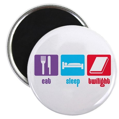 "Eat Sleep Twilight 2.25"" Magnet (10 pack)"