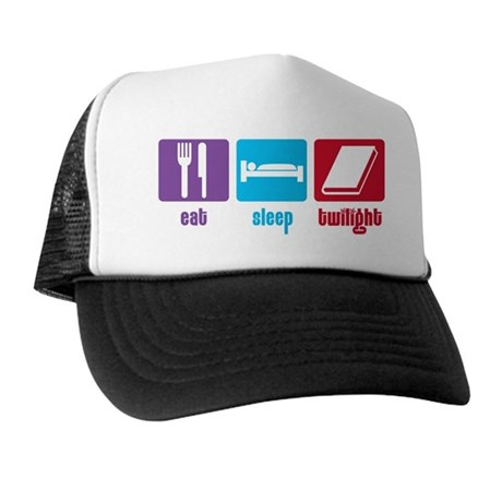 Eat Sleep Twilight Trucker Hat