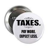 "Taxes... 2.25"" Button"