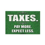 Taxes... Rectangle Magnet (100 pack)