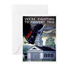 Fighting to Prevent This Greeting Cards (Package o