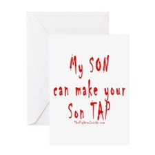 My SON can make your Son TAP Greeting Card