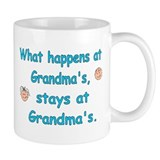 What Happens at Grandma's II Small Mug