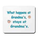 What Happens at Grandma's II Mousepad