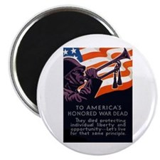 Honoring Our Troops Magnet