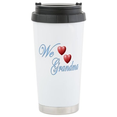 We Love Grandma Ceramic Travel Mug