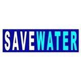 Save Water Bumper  Bumper Sticker