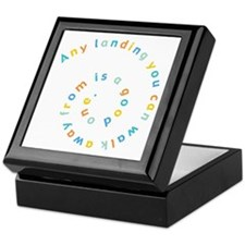 Any Landing Keepsake Box