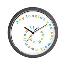 Any Landing Wall Clock