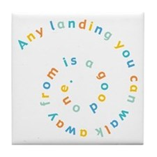 Any Landing Tile Coaster
