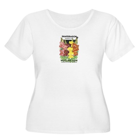 Snapdragon Women's Plus Size Scoop Neck T-Shirt