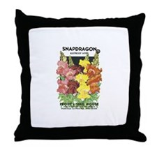 Snapdragon Throw Pillow