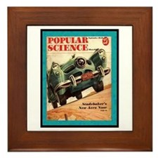 """1950 Studebaker Test"" Framed Tile"
