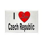I Love Czech Republic Rectangle Magnet (10 pack)
