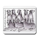 Cute Deer hounds Mousepad