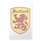 Scotland Rectangle Bumper Stickers