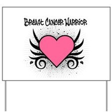 BreastCancerWarrior Tattoo Yard Sign