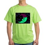 Sleepy Moonlight Green T-Shirt