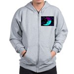 Sleepy Moonlight Zip Hoodie