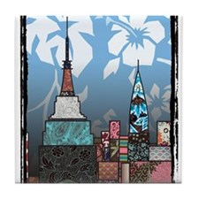 Empire State Building Tile Coaster