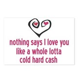 Money Is Love Postcards (Package of 8)
