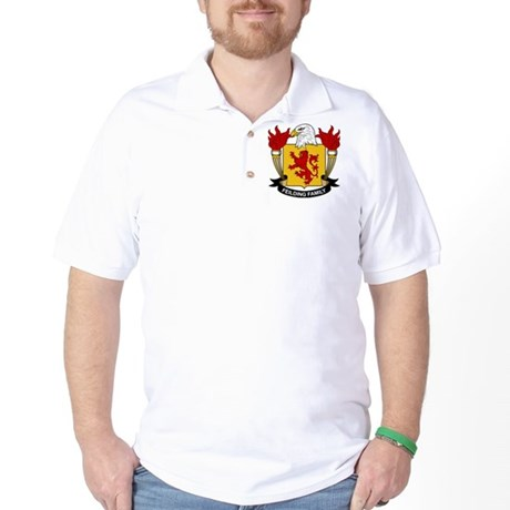 Feilding Family Crest Golf Shirt