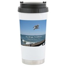 Imperial Beach Pier, San Diego Travel Mug