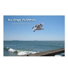 Imperial Beach Pier, San Diego Postcards (Package