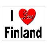 I Love Finland Small Poster