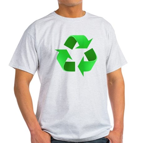 Environmentalist Go Green Tip Light T-Shirt