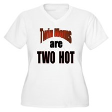 Twin Moms Are Hot T-Shirt