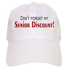 Senior Discount Baseball Cap