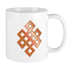 Copper Endless Knot Mug