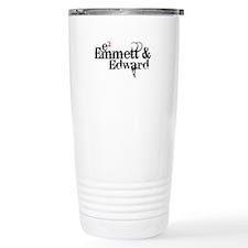 Emmett & Edward Stainless Steel Travel Mug