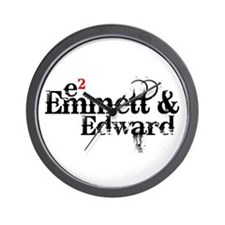 Emmett & Edward Wall Clock