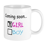Girl, Coming Soon Small Mugs
