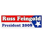 Russ Feingold for President Sticker