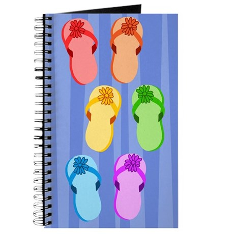 Rainbow Flip-Flops Journal