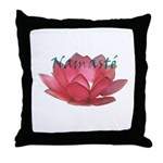 Namast Throw Pillow