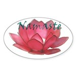 Namasté Oval Sticker (10 pk)