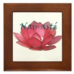 Namasté Framed Tile