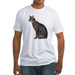 Cat Men's Fitted T-Shirts