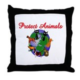 Just Totes Throw Pillow