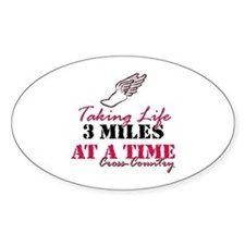 Taking Life 3 miles CC Decal