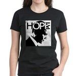 HOPE Obama Women's Dark T-Shirt