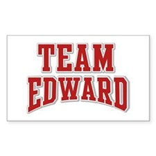 Team Edward Personalized Custom Decal